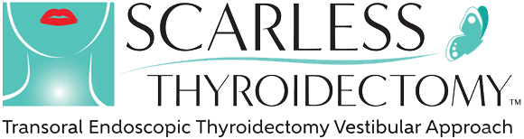 After Image of Scarless Thyroidectomy Logo